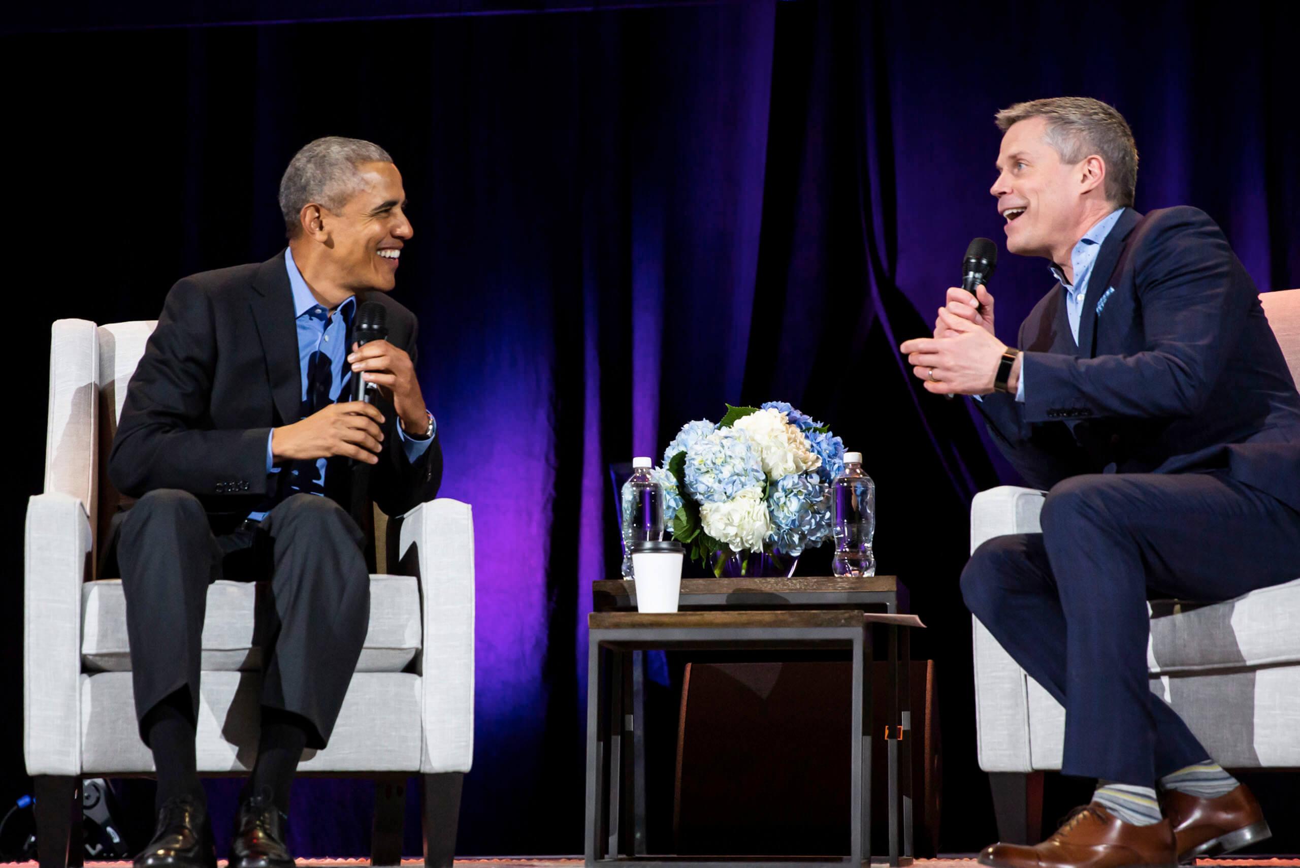Barack Obama Comes To Calgary